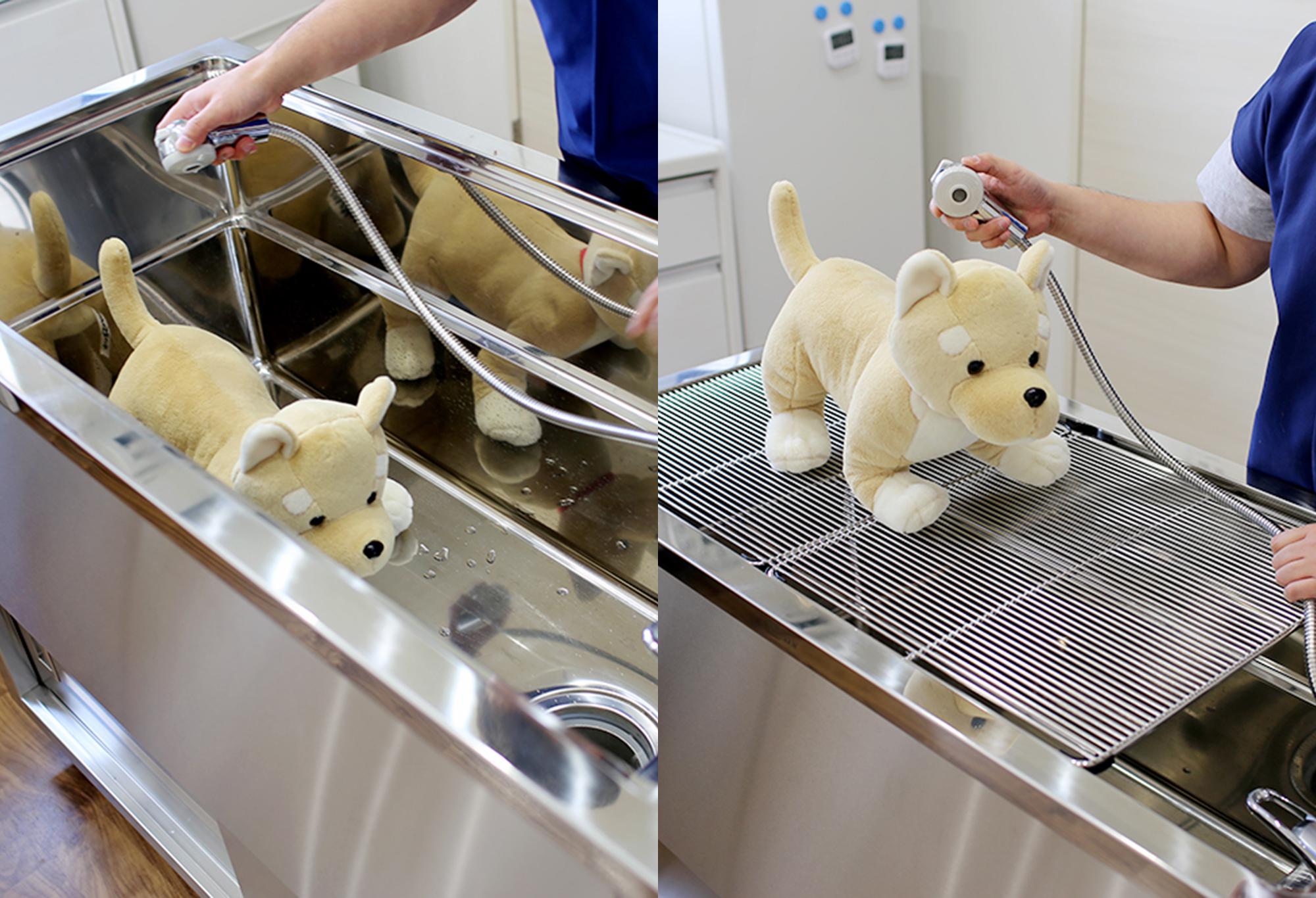 【Shampoo and Treatment Sink】